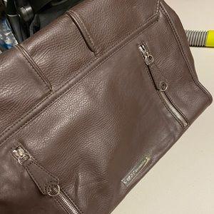 BCBGeneration Leather messenger / laptop bag